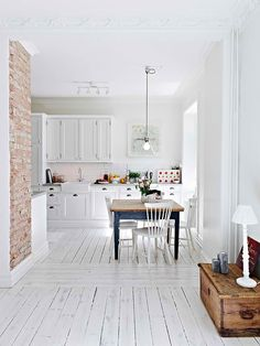 This beautiful Sweden apartment was built in the early 1900. Light, clean and functional. Swedish homes and apartments generally maintain a ...
