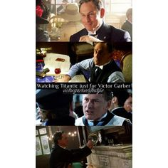 Full picture of a previous one Victor Garber, Thomas Andrews, Titanic, Boat, Film, Fictional Characters, Instagram, Movie, Dinghy
