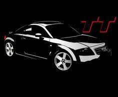 Audi TT Mk1 t-shirt