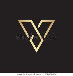 V letter logo design vector Letter H Design, Name Card Design, V Logo Design, Monogram Design, Typography Letters, Typography Design, Lettering, Letter Logo, Dia Do Designer