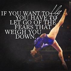 If you want to fly you have to let go of the fears that weigh you down. @fiercefivephotos