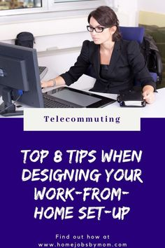Top 8 Tips When Designing Your Work-from-Home Set-up #homeoffice #workingfromhome