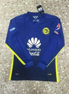 1b7cb9cff Club America 2015-2016 Season LS Away Soccer Jersey - Click Image to Close  Cheap. Cheap Football ShirtsSoccer ...