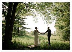 Homespun outdoor wedding: Lisa + Gary