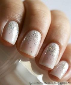 "essie waltz & sparkle essie waltz & sparkle essie waltz & sparkle Great wedding nails, "" how to do your nails for a wedding"" manicure for bride, Wedding Manicure, Wedding Nails Design, Nail Wedding, Wedding Beach, Wedding Designs, Summer Wedding, Destination Wedding, Wedding Shoes, Dream Wedding"
