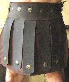 Medieval-Roman-Greek-Leather-Belt-Armor