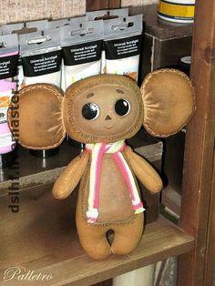 Ароматизированные куклы ручной работы. Ярмарка Мастеров - ручная работа пряничный Чебурашка. Handmade.