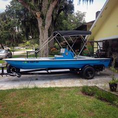 Matthew Abello's East Cape Skiffs Fury w/ Bimini Feature for a day with his baby boy.