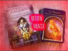 REVIEW L'ORACLE SAGESSE DES ROYAUMES CACHES ( COLETTE BARON -REID ) - YouTube