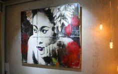 Beautiful artwork by the talented YOKII. Beautiful Artwork, Contemporary Art, Culture, Gallery, Painting, Roof Rack, Contemporary Artwork, Painting Art, Paintings