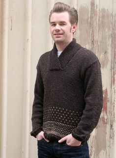 men's sweater, pattern from Pickles $6.00