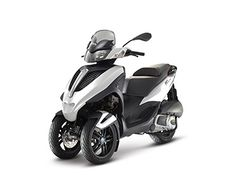 Drive a Piaggio Mp3 motor with your car driverlicence...