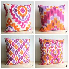 30 by 20-Inch 30 X 20 Kess InHouse Sarah Oelerich Paisley Pop Orange Pink Standard Pillow Case