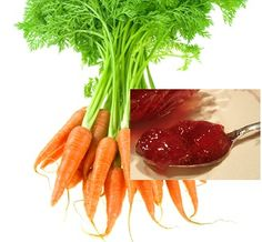 FODMAP Free Shredded Carrots with Strawberry Preserves and
