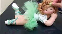 Nany Helena shared a video Dance Crafts, Doll Videos, Primitive Doll Patterns, Doll Making Tutorials, Presents For Kids, Sewing Dolls, Doll Tutorial, Fairy Dolls, Barbie And Ken