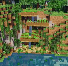 Lee a. - Explore the best and the special ideas about Minecraft Houses Minecraft Garden, Minecraft Farm, Easy Minecraft Houses, Minecraft Plans, Minecraft House Designs, Minecraft Construction, Amazing Minecraft, Minecraft Blueprints, Minecraft Creations