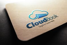 Check out Cloud Book Logo by samedia on Creative Market