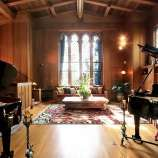 The home is now called the Maybeck Studio because of its cathedral-like recital hall with renowned acoustics for recording and performing.