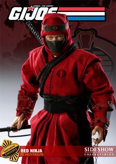 G.I. Joe Red Ninja Sixth Scale Figure by Sideshow Collectibl | Sideshow Collectibles
