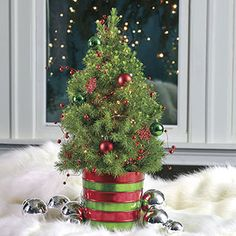 Magical Christmas Tree - Red and Green