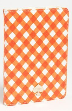 kate spade new york gingham iPad mini folio available at #Nordstrom