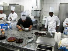 Serge Martin, famous Pastry Chef visits Long Beach, #Mauritius