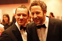 Photos | The IFTA's 2012 - Red Carpet - entertainment.ie Chris O'dowd / Michael Fassbender
