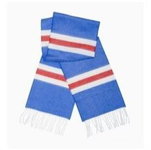 Blue White and Red Cashmere Bar Scarf Retro Football Shirts, Cashmere Scarf, Vintage Tops, Blue And White, Hoodies, Knitting, Euro, Red, T Shirt