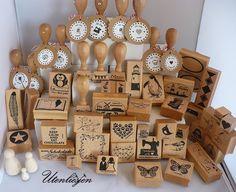 KÖNIG »  Stempel Holzstempel mit persönlichem Wunschtext « KRONE Sammeln & Seltenes