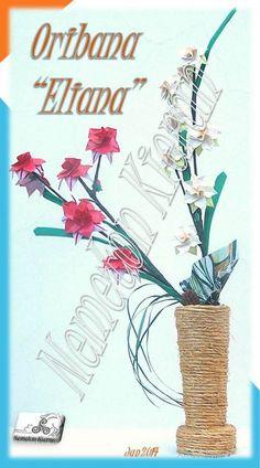 Origami Books, Origami Flowers, Flower Arrangements, Place Cards, Place Card Holders, Flowers, Floral Arrangements