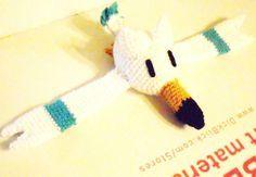 Wingull - Pokemon Character - Free Amigurumi Pattern http://calaverascocina.blogspot.com.au/2011/07/wingull.html
