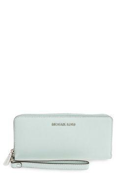 a018769bc8147 MICHAEL MICHAEL KORS  Jet Set  Travel Wallet.  michaelmichaelkors  bags   leather  wallet  accessories