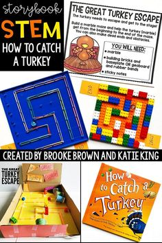 How to Catch a Turkey Storybook STEM