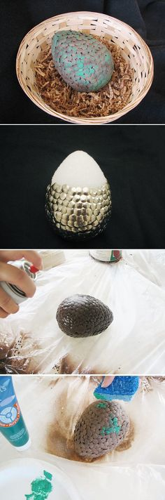 We're totally geeking out over this Game of Thrones inspired Dragon Egg. Crafting plus medieval themes and sci-fi influences come together very nicely in this easy DIY! How to instructions here: www.ehow.com/...