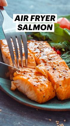 Air Fyer Recipes, Air Fryer Oven Recipes, Air Fryer Dinner Recipes, Cooking Recipes, Air Fryer Chicken Recipes, Grilled Asparagus Recipes, Salmon Recipes, Air Fried Food, Air Fryer Healthy