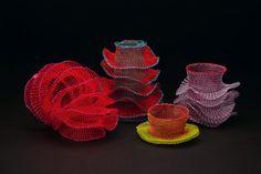Crochet Bracelets by Arline Fisch