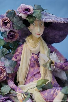 "3rd International exhibition ""Art Dolls"" held in Crocus Expo from 25 to 28 October 2012 - Olga Egupets"