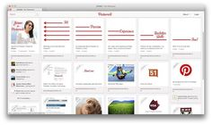 Pinterest account as online CV and its landed her a job offer!