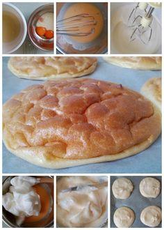 Felhőkenyér recept, felhőlángos, felhő palacsinta készítése Pancakes, Clean Eating, Food And Drink, Low Carb, Tasty, Healthy Recipes, Healthy Food, Bread, Breakfast