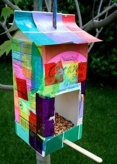 DIY Birdfeeder made