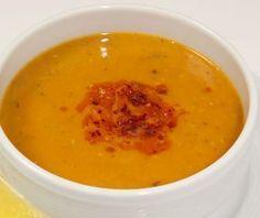 Mercimek - Sopa de lenteja roja