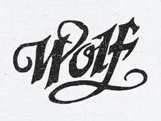 Steve Wolf Designs is an Austin-based graphic design studio. They specialize in creating meaningful and timeless design for clients and their audience. Typography Love, Script Lettering, Typography Inspiration, Typography Letters, Steve Wolf, Wolf Design, Identity, Single Words, Graphic Design Studios