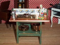 Perfekt Fabulous Country Primitive Work Table