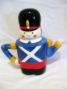 Nutcracker Ceramic Christmas Teapot | eBay