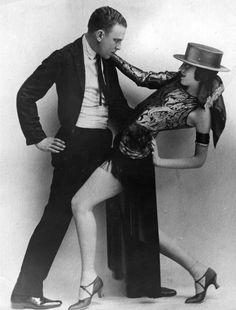 Cabaret dancers, Josephine Head and Albert Zapp, perform the Tango at the Piccadilly Hotel, 1930. Photo by Hulton Archive.