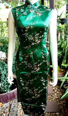Asia/China/Japan+Qipao/Geisha+Kleid+Grün+Gr.34-42+von+Newstar-2555+auf+DaWanda.com