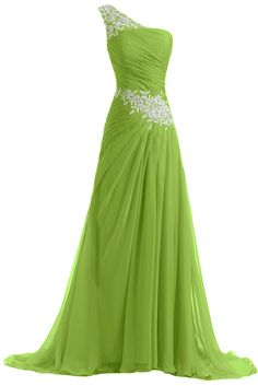 Sunvary New Chiffon and Applique Long Bridesmaid Dresses Evening Prom Gowns | Amazon.com
