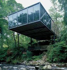 Goulding Summerhouse, Enniskerry, Ireland. 1972 Scott-Tallon-Walker Architects