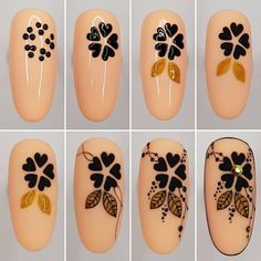 Nail design is an art. The great nail designer has completed a large number of nail art designs. If you haven't seen the process of nail design with your own eyes, you must want to know how beautiful nails are designed. Great Nails, Simple Nails, Cute Nails, Nail Art Hacks, Nail Art Diy, Nail Art Coeur, Nail Art Designs Videos, Nail Art Techniques, Gel Nagel Design