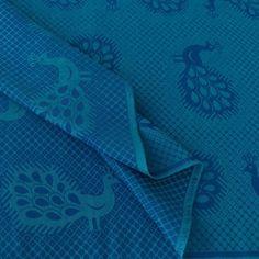 Didymos - Blue Peacock - 50% coton / 50% lin   230 g/m²